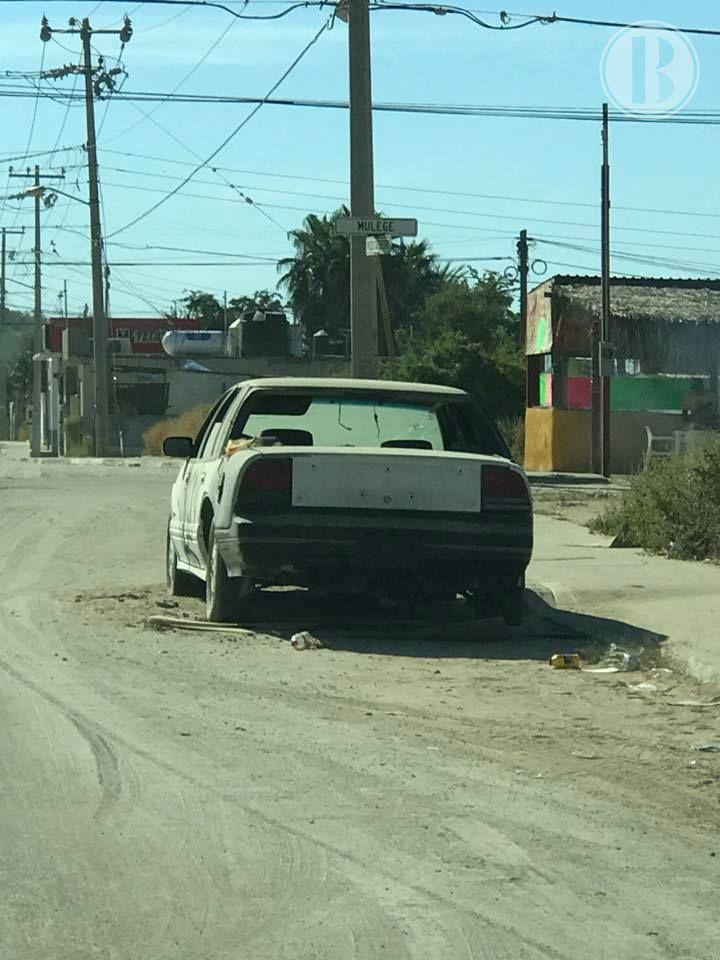 Retirarán vehículos chatarra de las calles en Cabo San Lucas