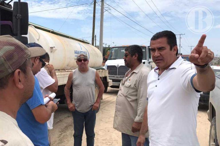 Inicia restablecimiento del servicio de agua potable