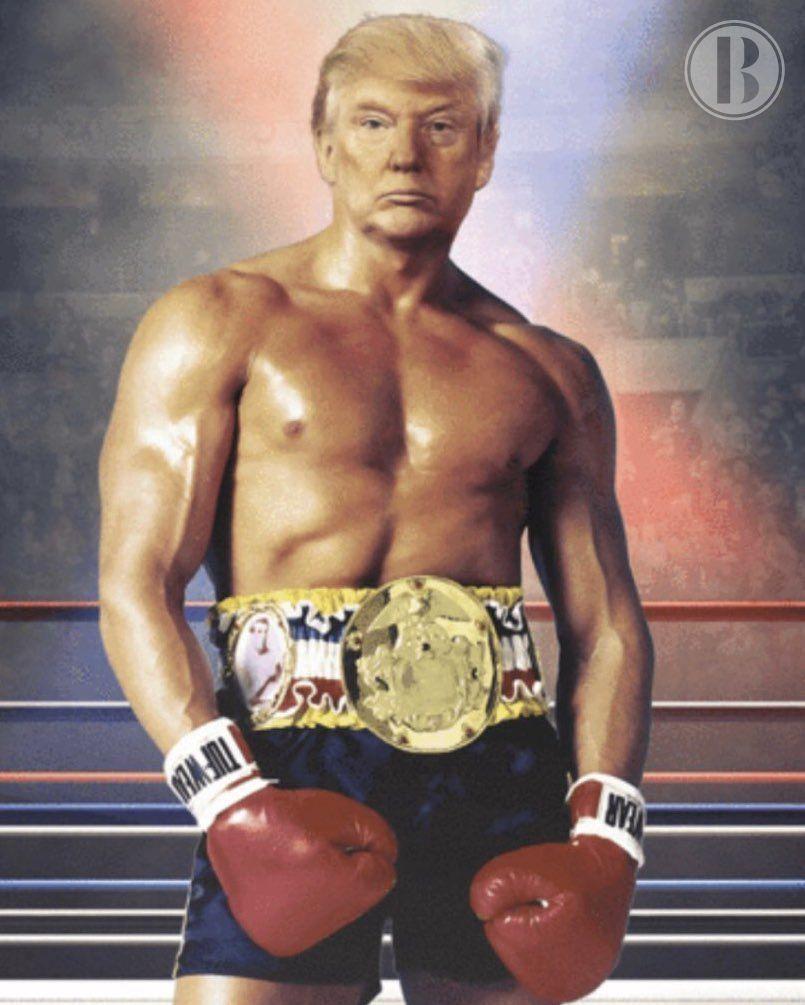 """Donald Trump saca """"músculo"""" ante los buenos datos económicos"""