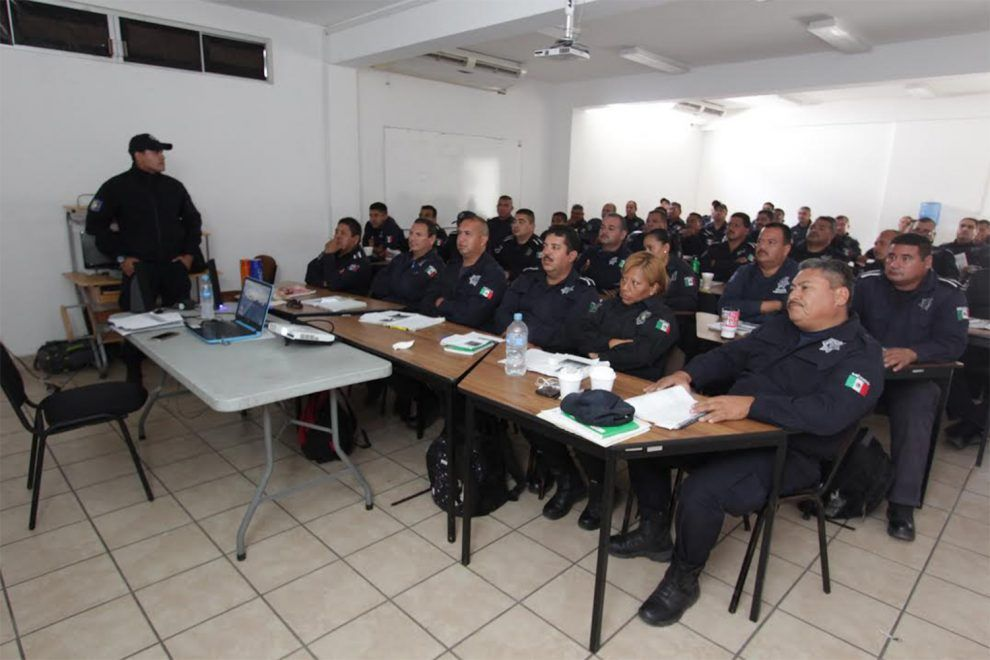 Policías reciben actualización sobre el Sistema Penal Acusatorio