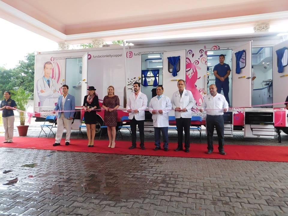 Fundación Letty Coppel entrega al DIF una unidad móvil de salud