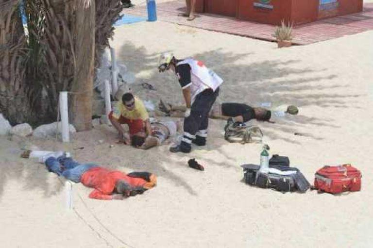 Pánico en playa Palmilla por un tiroteo que dejó 3 muertos