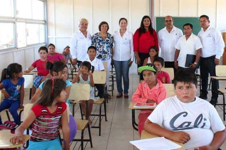 Con 25 alumnos, abren primaria en comunidad San Juan Londo