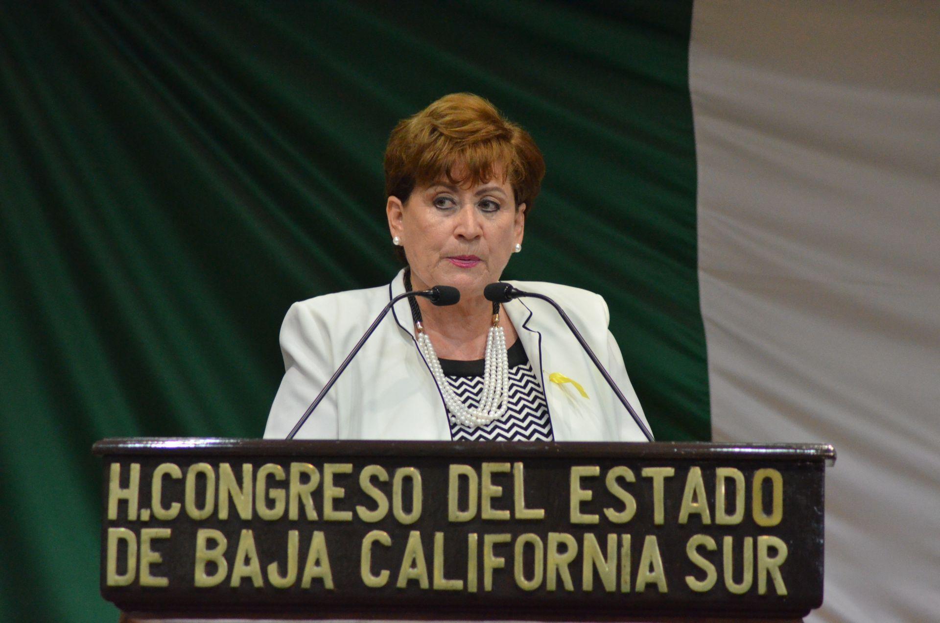 Rosa Delia Cota Montaño renuncia al PRD