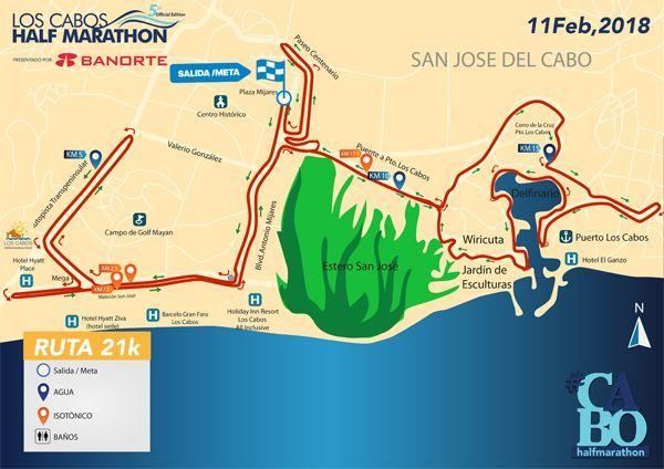 Los Cabos Half Marathon 2018 llega el 11 de Febrero
