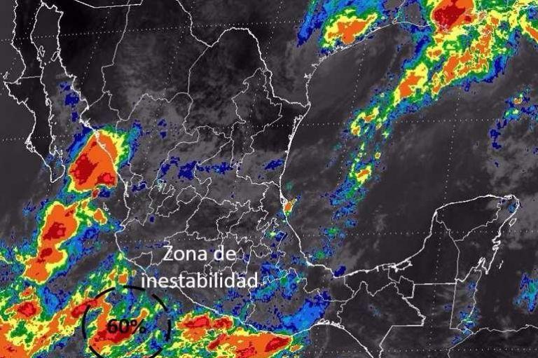 Protección civil monitorea posible ciclón en costas de Los Cabos