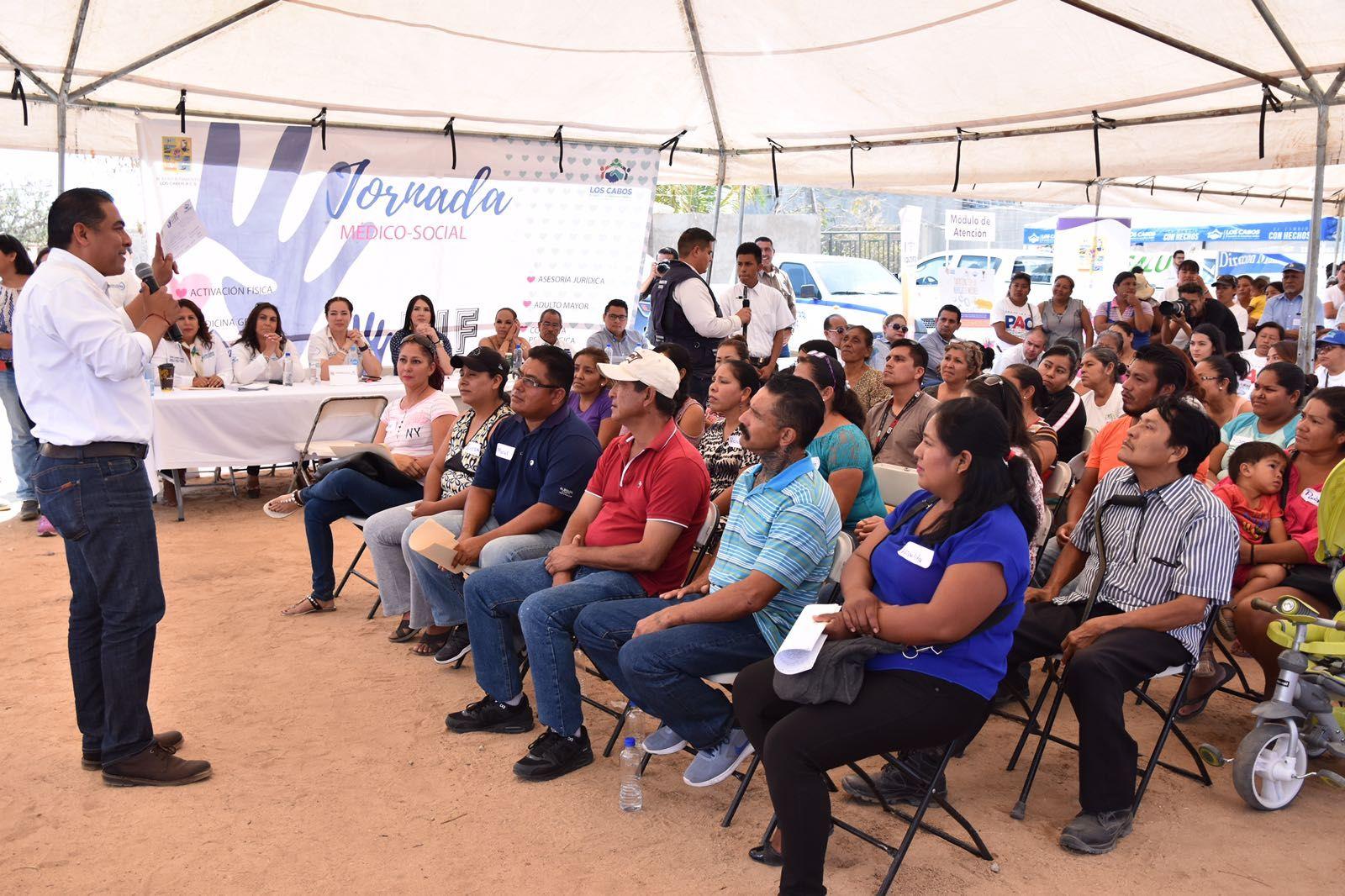 """Jornada social """"alcalde en tu colonia"""" llega Azteca y Miranda"""