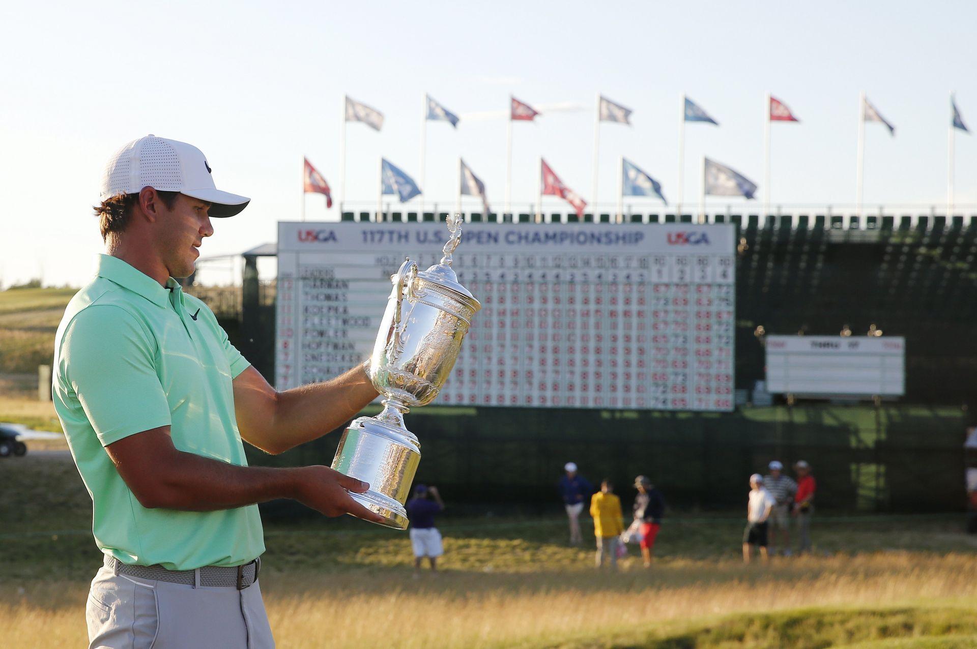 1 Brooks Koepka conquista su primer grande en el US Open