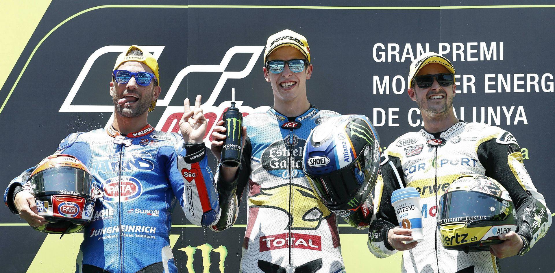 Dovizioso vuelve a ganar y amarga la fiesta española de Márquez