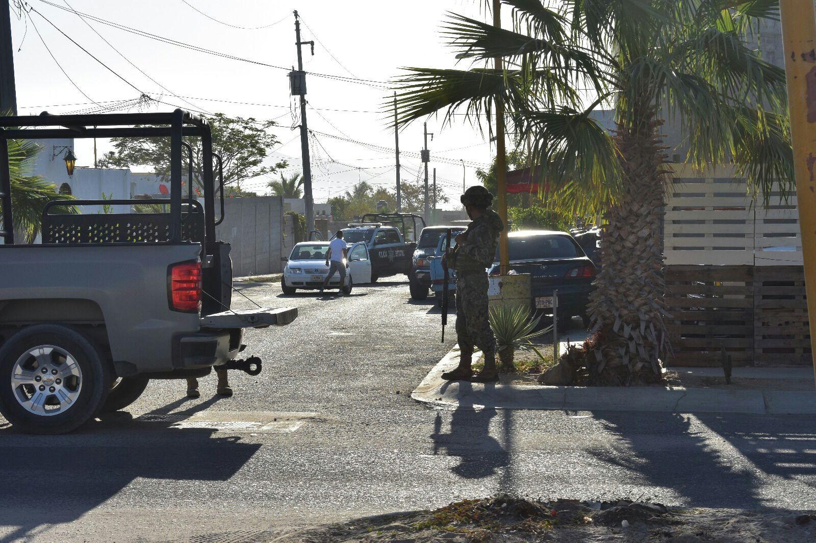 Enfrentamiento San Jose del Cabo