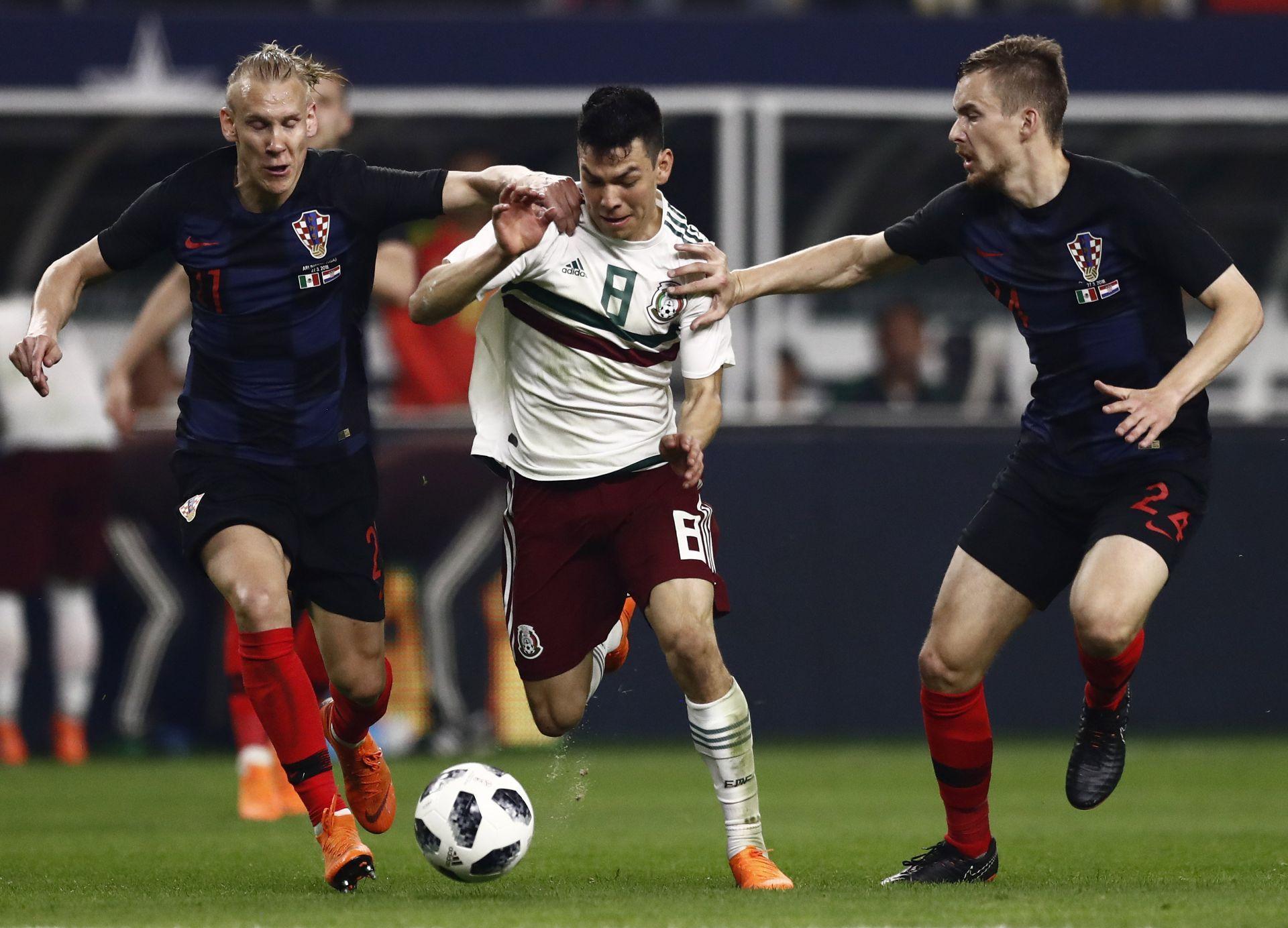 Croacia, sin varias de sus figuras, vence a México en amistoso