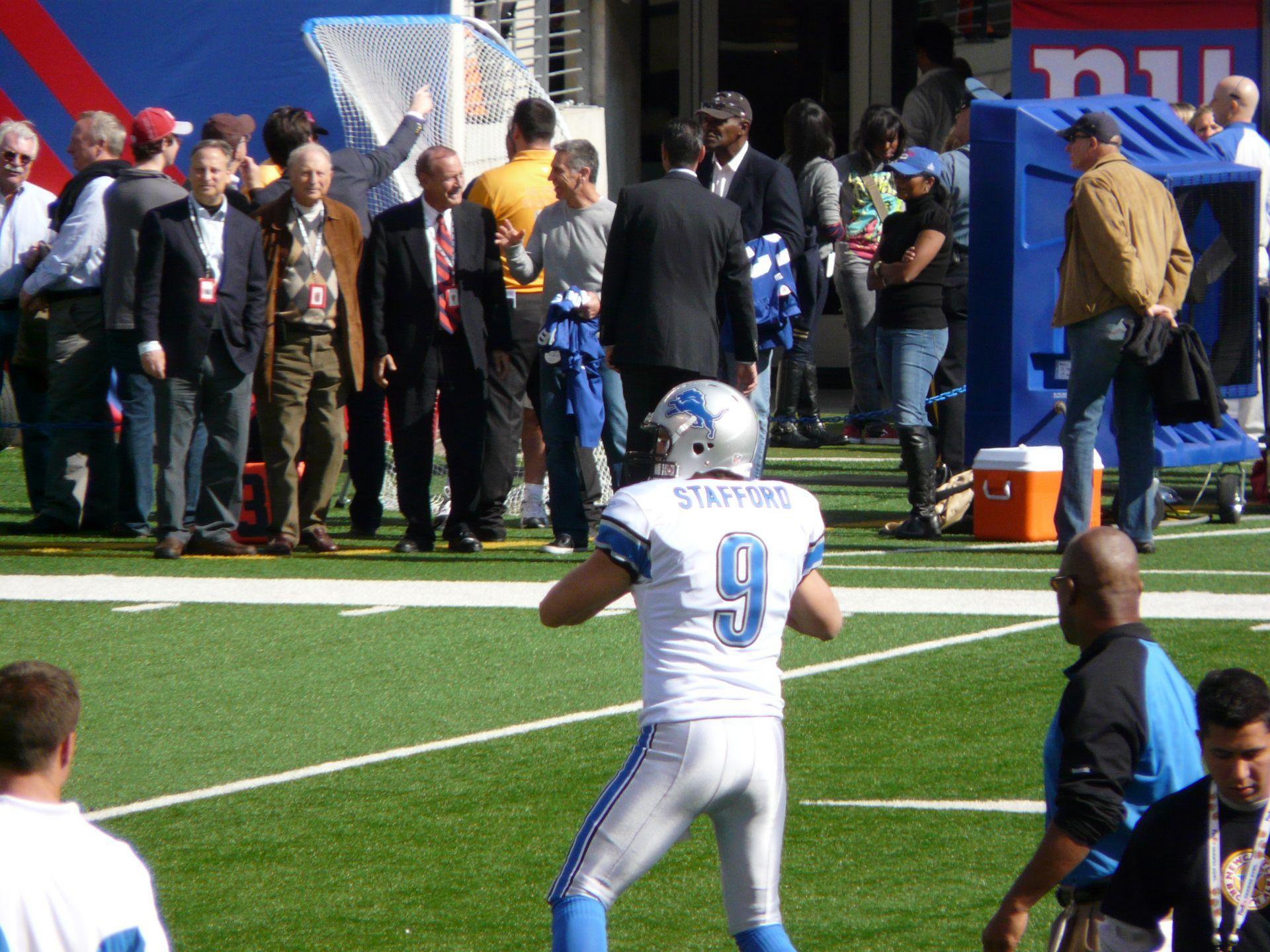 10-24. Stafford lidera triunfo a domicilio de Lions ante Giants