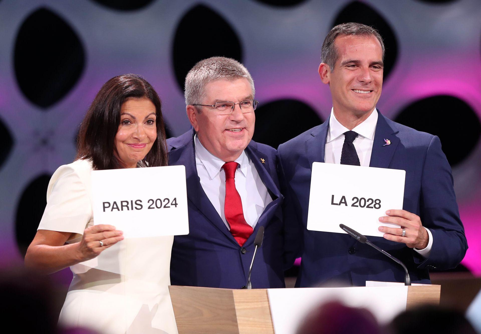 COI aprueba la concesión de los Juegos de 2024 a París y 2028 a LA