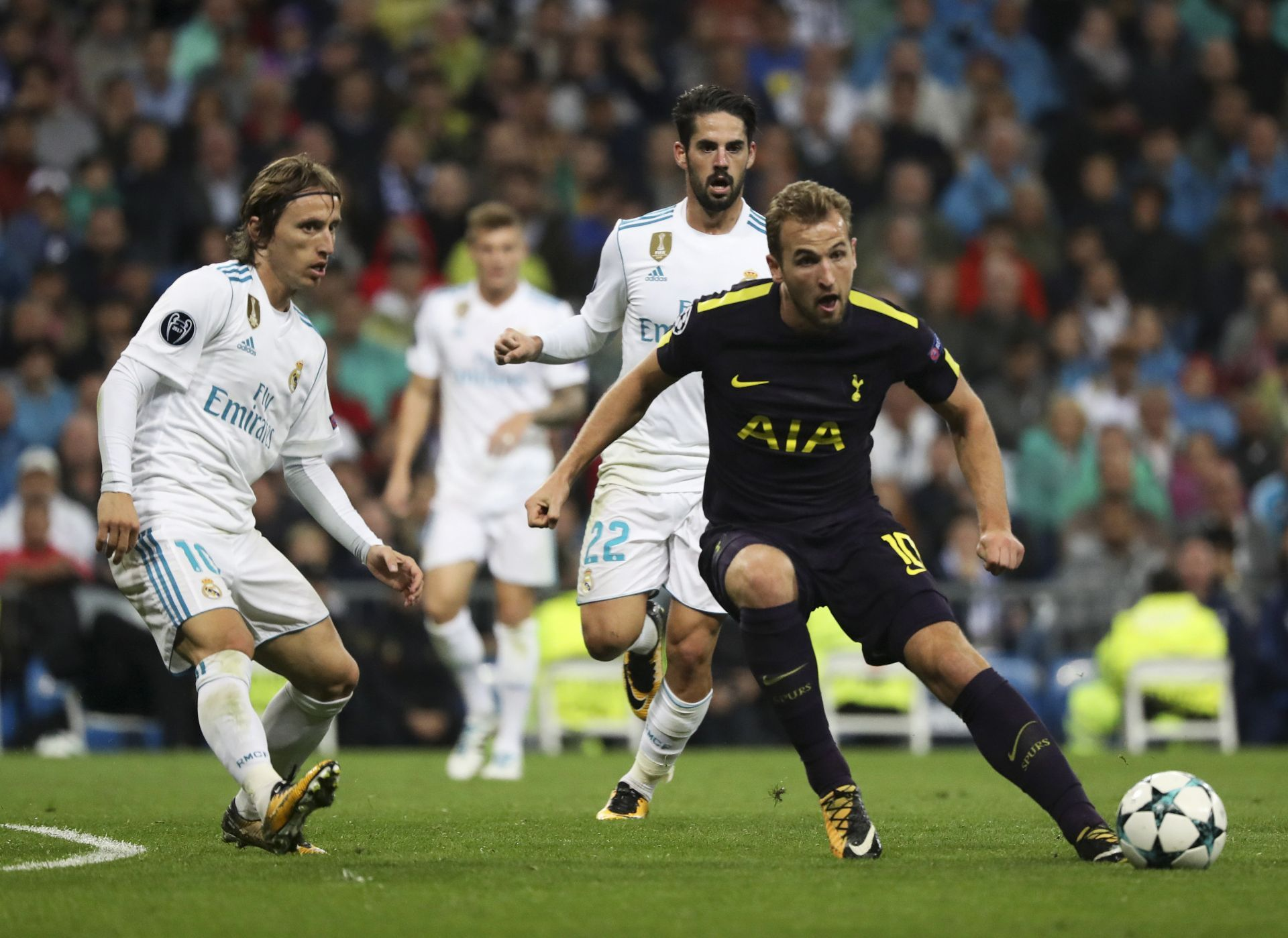 Empate del Real Madrid, debacle del Sevilla y pleno del City