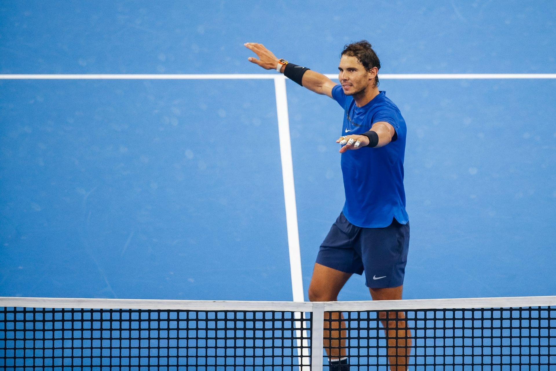 Nadal brilla, Federer pasa y Del Potro está pendiente de su muñeca