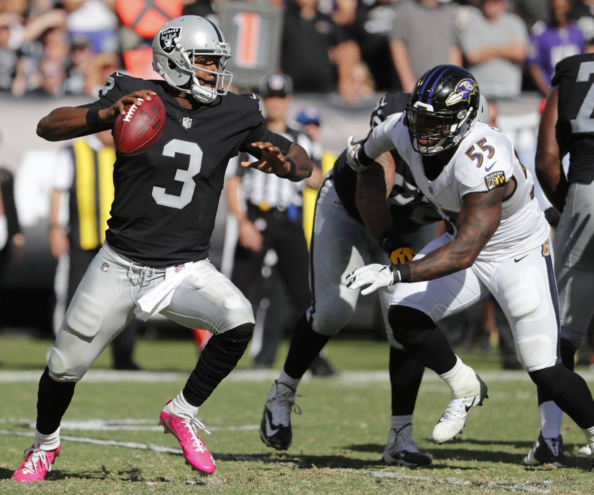 Baltimore Ravens at Oakland Raiders