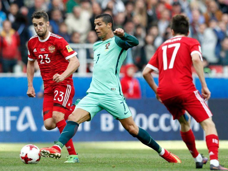 Ronaldo: estamos contentos, es la primera vez que ganamos en Rusia