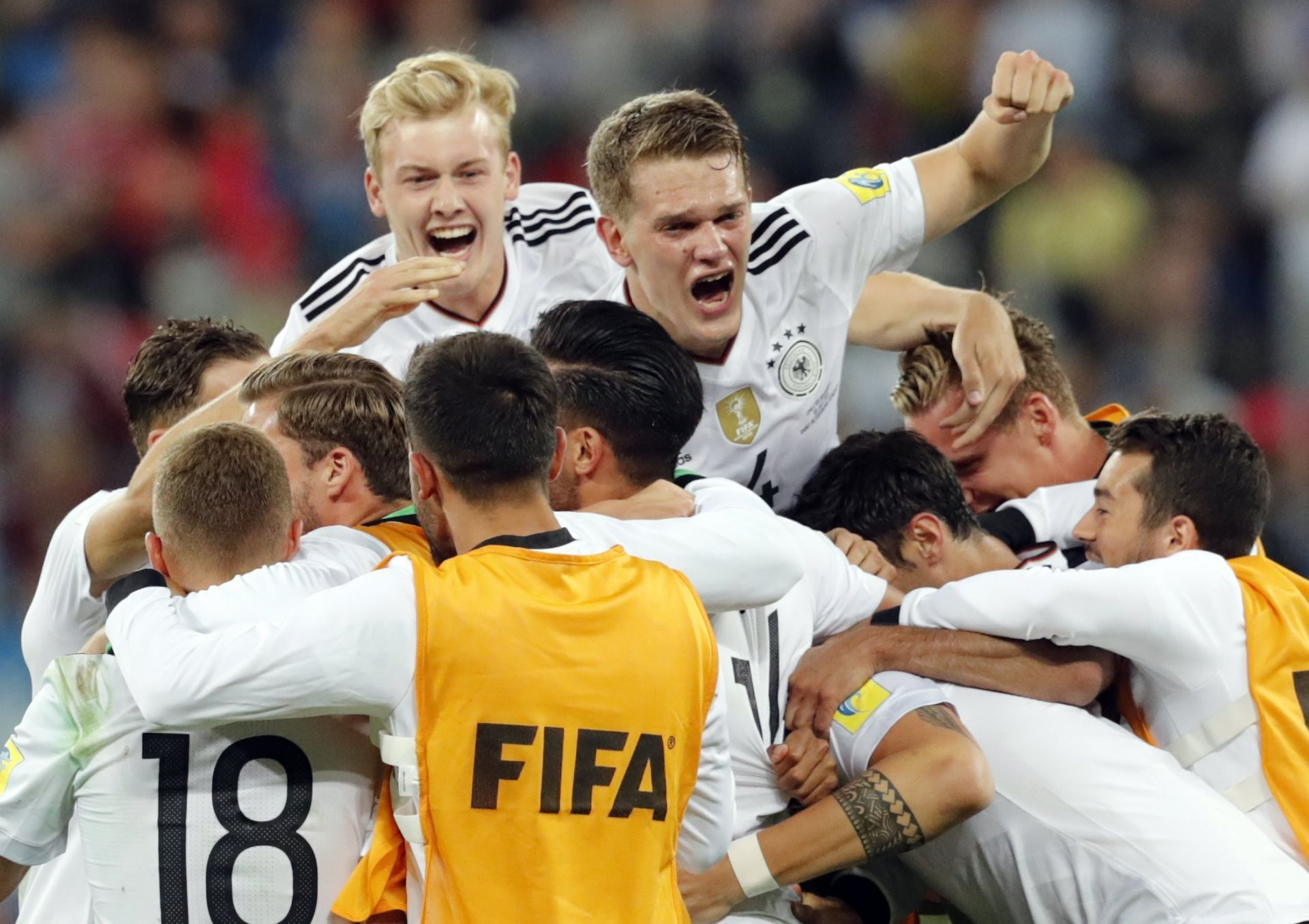 1-0 Alemania gana a Chile y conquista la Copa Confederaciones 2017