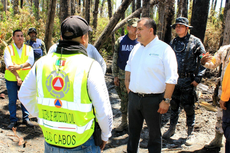Da a conocer el Ayuntamiento de Los Cabos el dictamen del incendio en el Estero Josefino