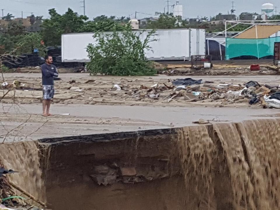 Sube a 7 la cifra de muertos en México por la tormenta Lidia, según medios