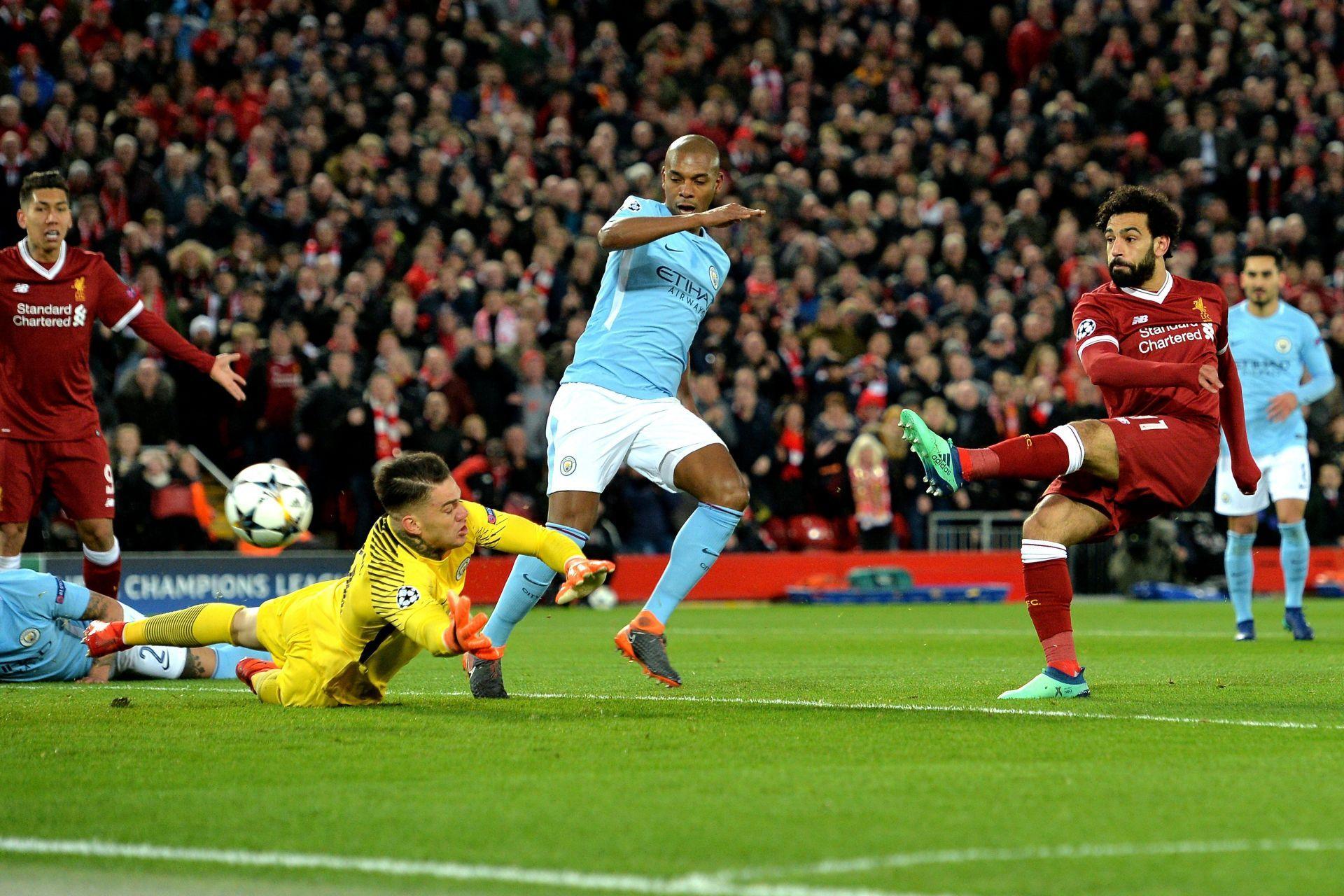 3-0 El Liverpool derrumba al City, pone pie y medio en semifinales