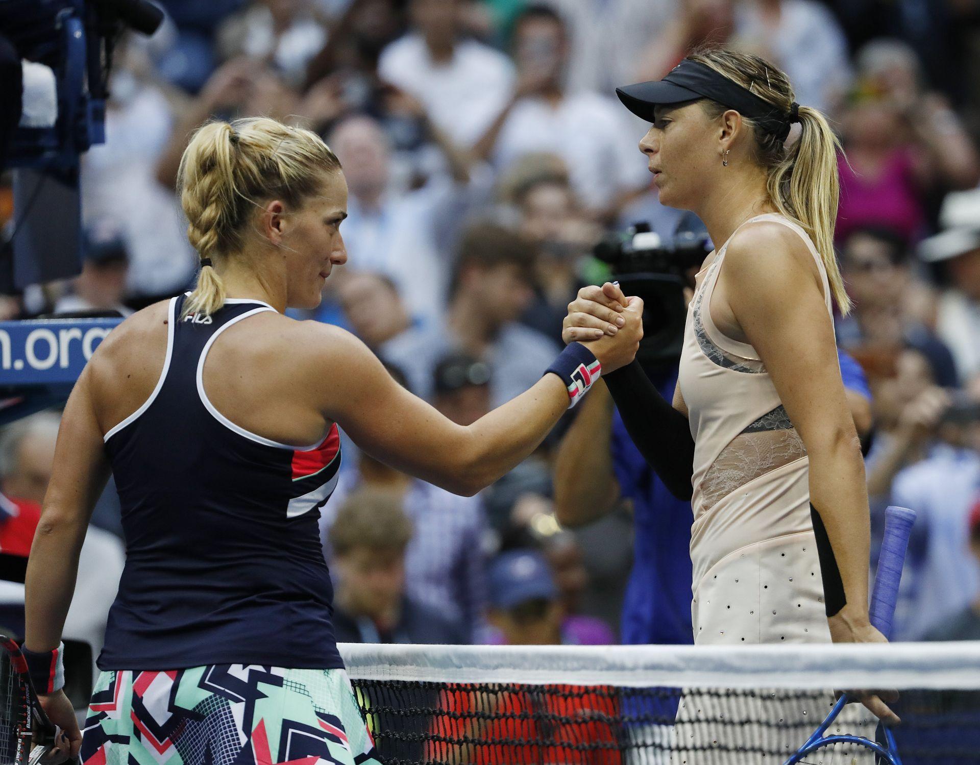 La tenista rusa Maria Sharapova mantiene su vuelta triunfal