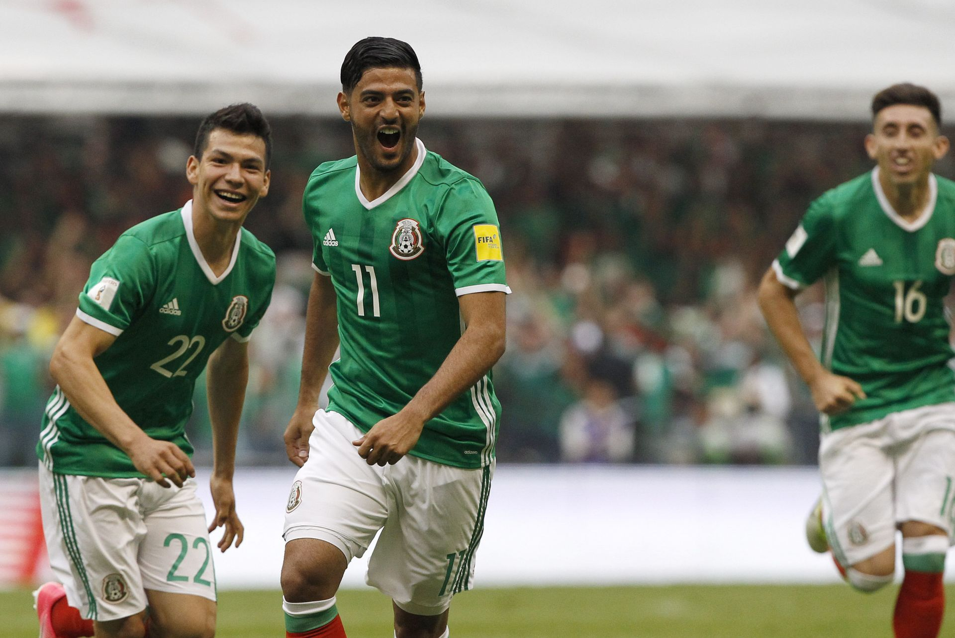 México quería ganar y asegurar boleto a Rusia.