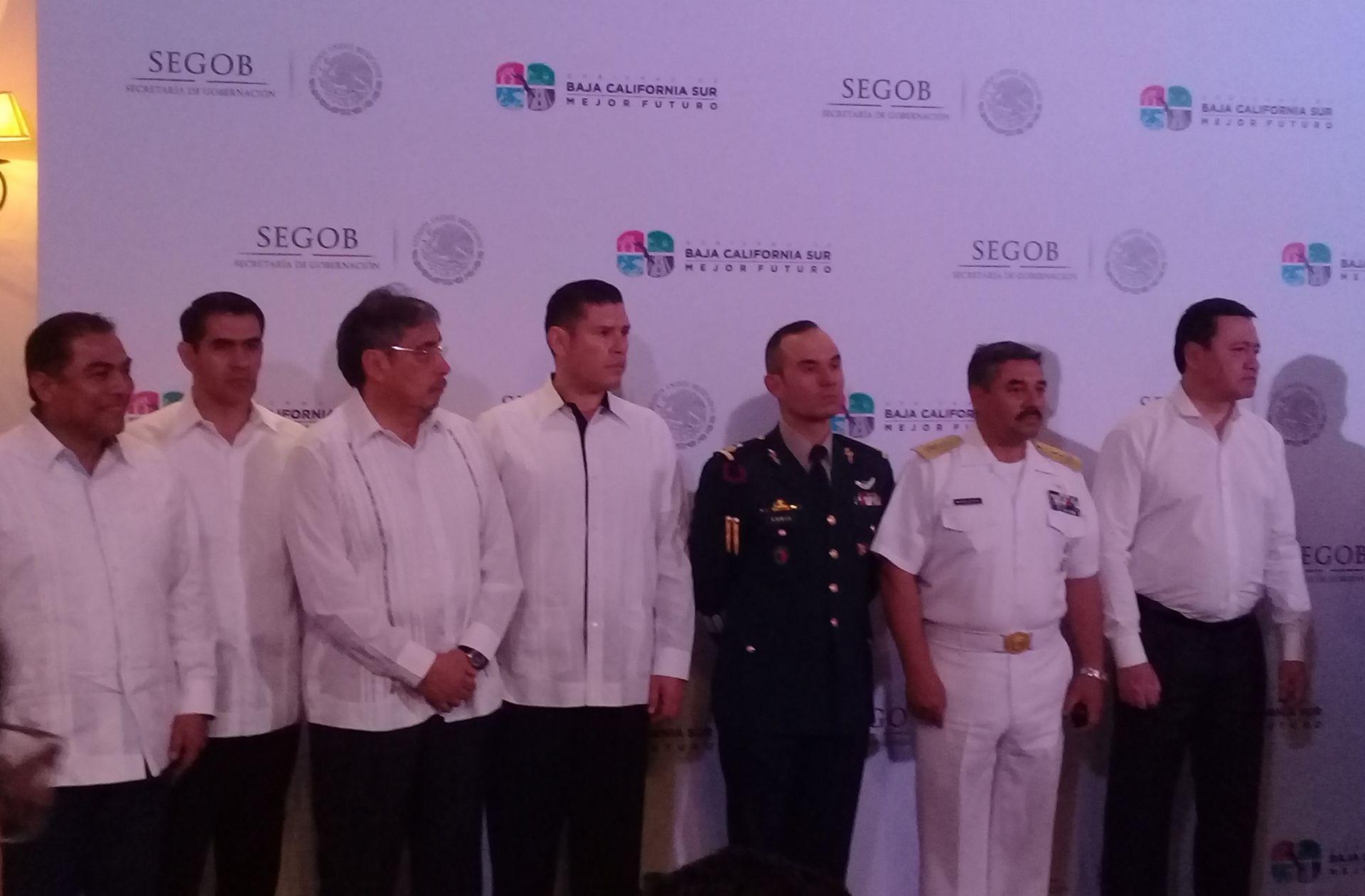Orden en La Paz y Los Cabos es gracias al  gobierno federal: Alvaro de la Peña