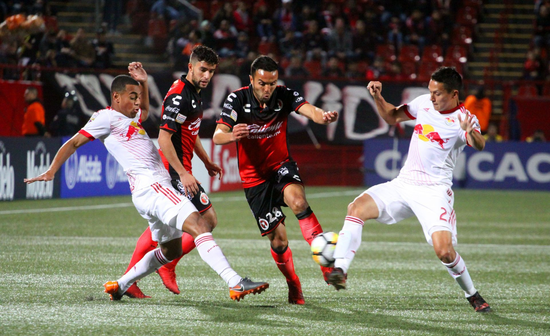 Xolos de México vs New York Red Bulls de Estados Unidos