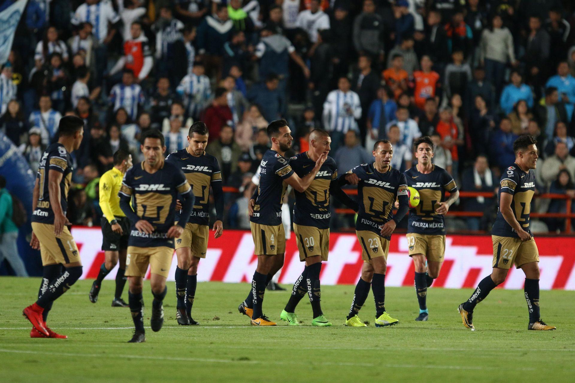 Nicolás Castillo anota dos goles en triunfo de Pumas sobre Pachuca
