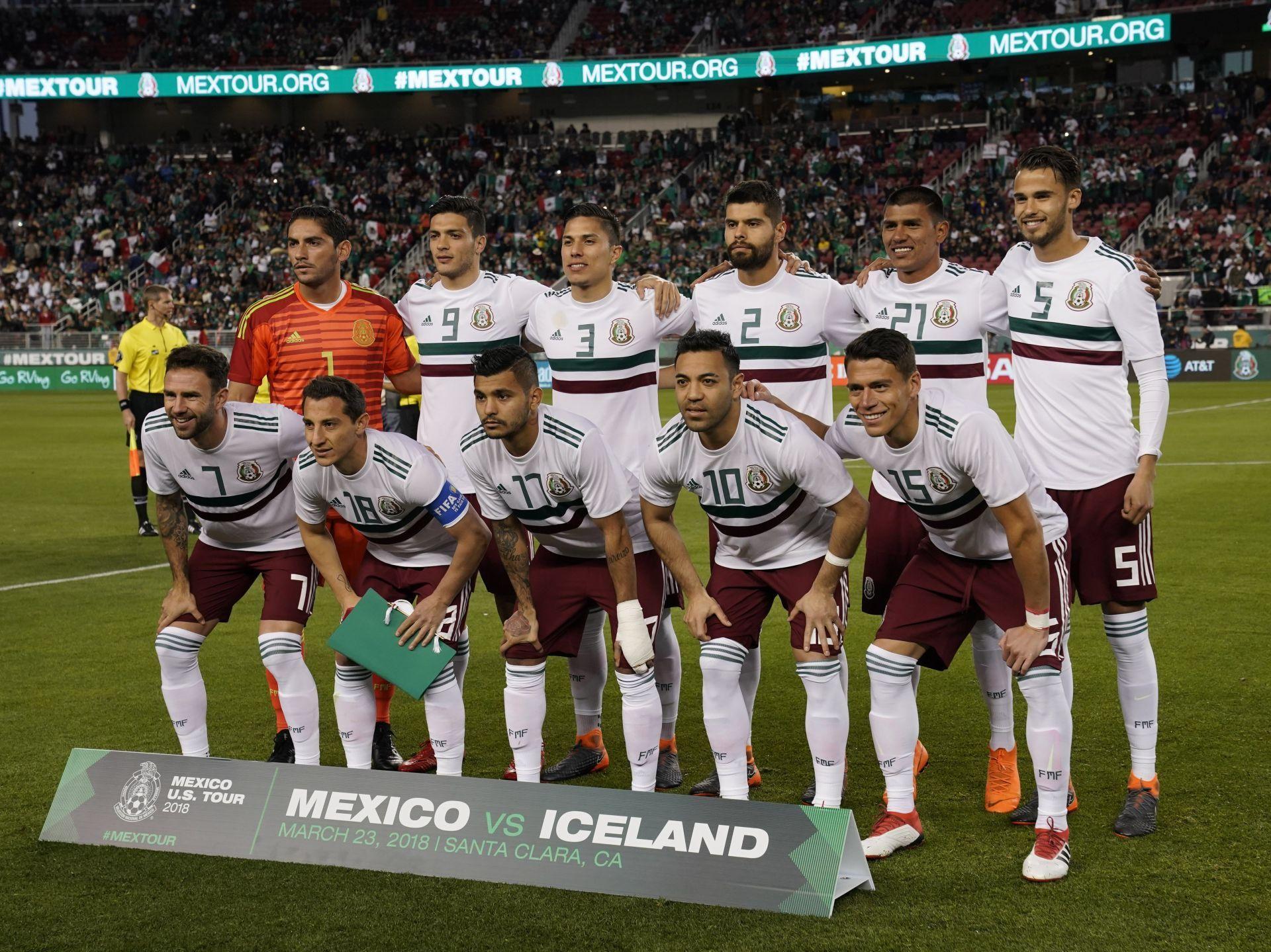 México reservará a sus principales figuras en duelo ante Croacia