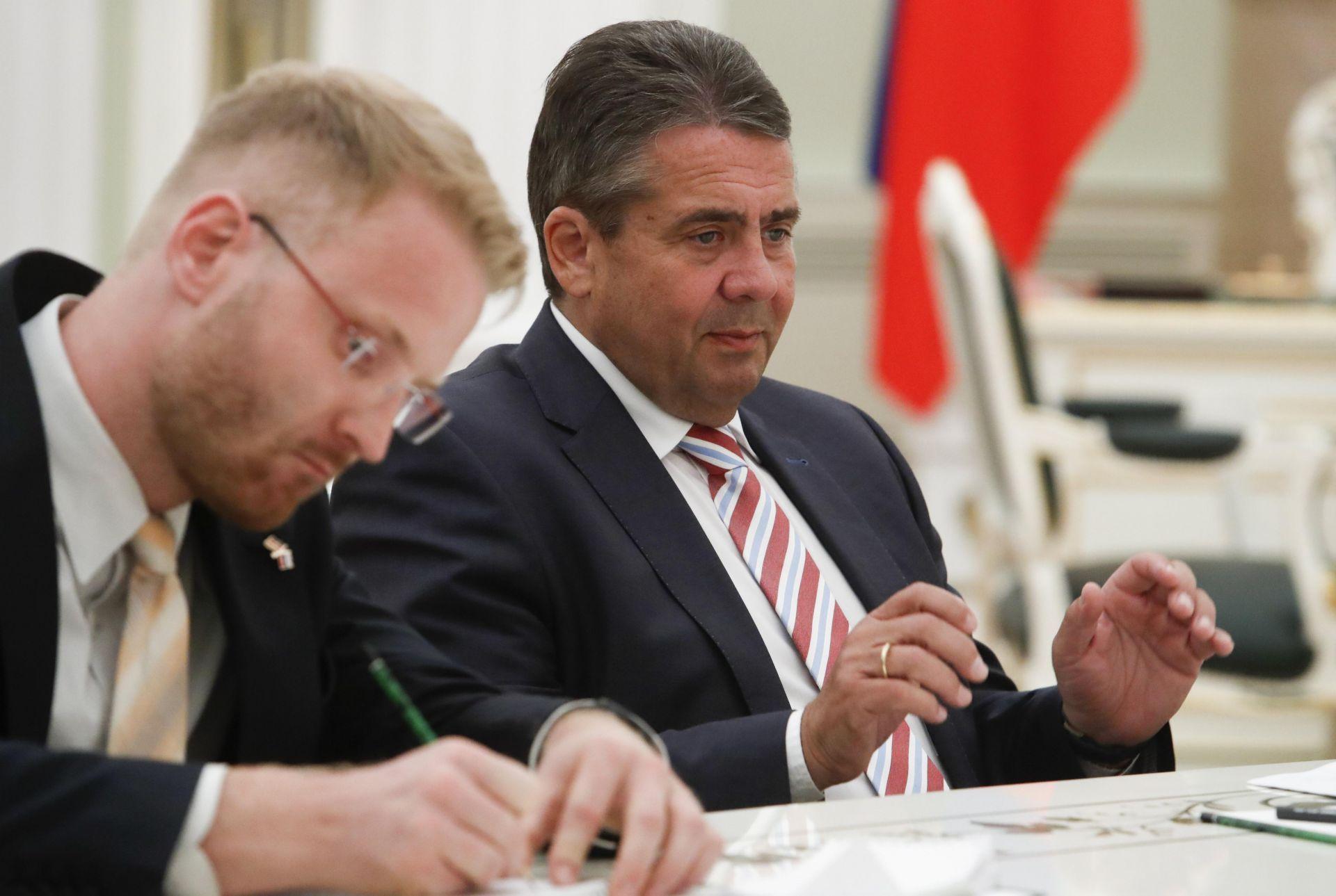 El ministro de Exteriores alemán, Sigmar Gabriel