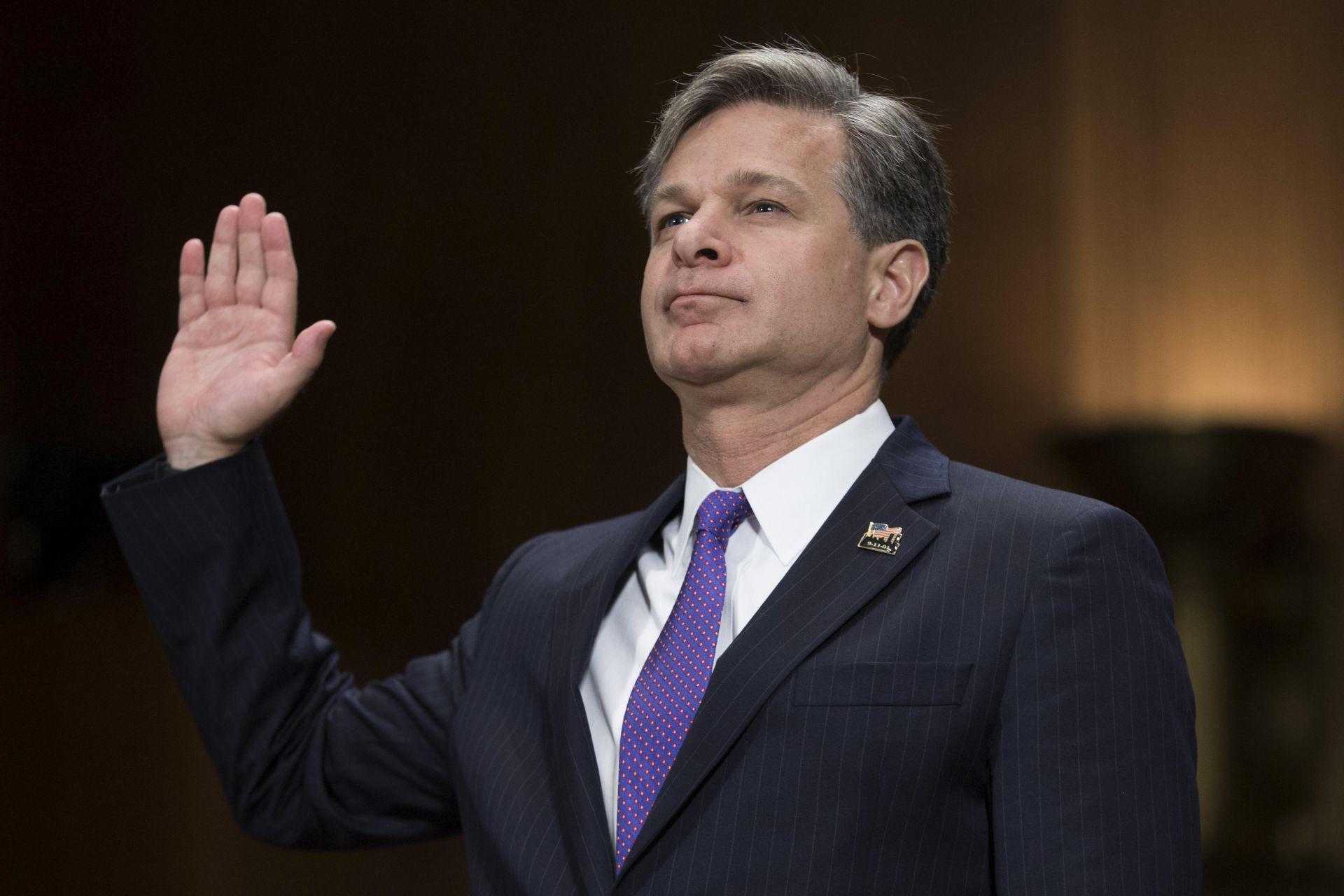 Christopher Wray-FBI-Estados Unidos
