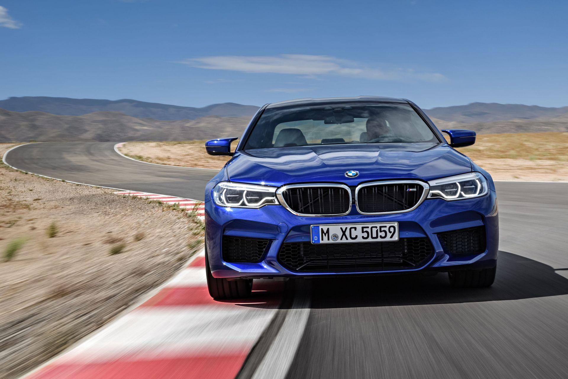 BMW incorpora por primera vez tracción total al sedán deportivo M5