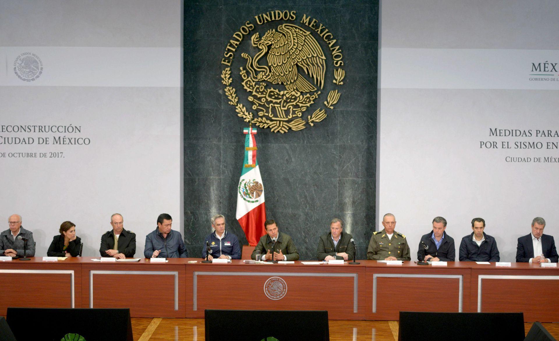 Ciudad de México detiene obras de rescate tras sismo y prepara reconstrucción