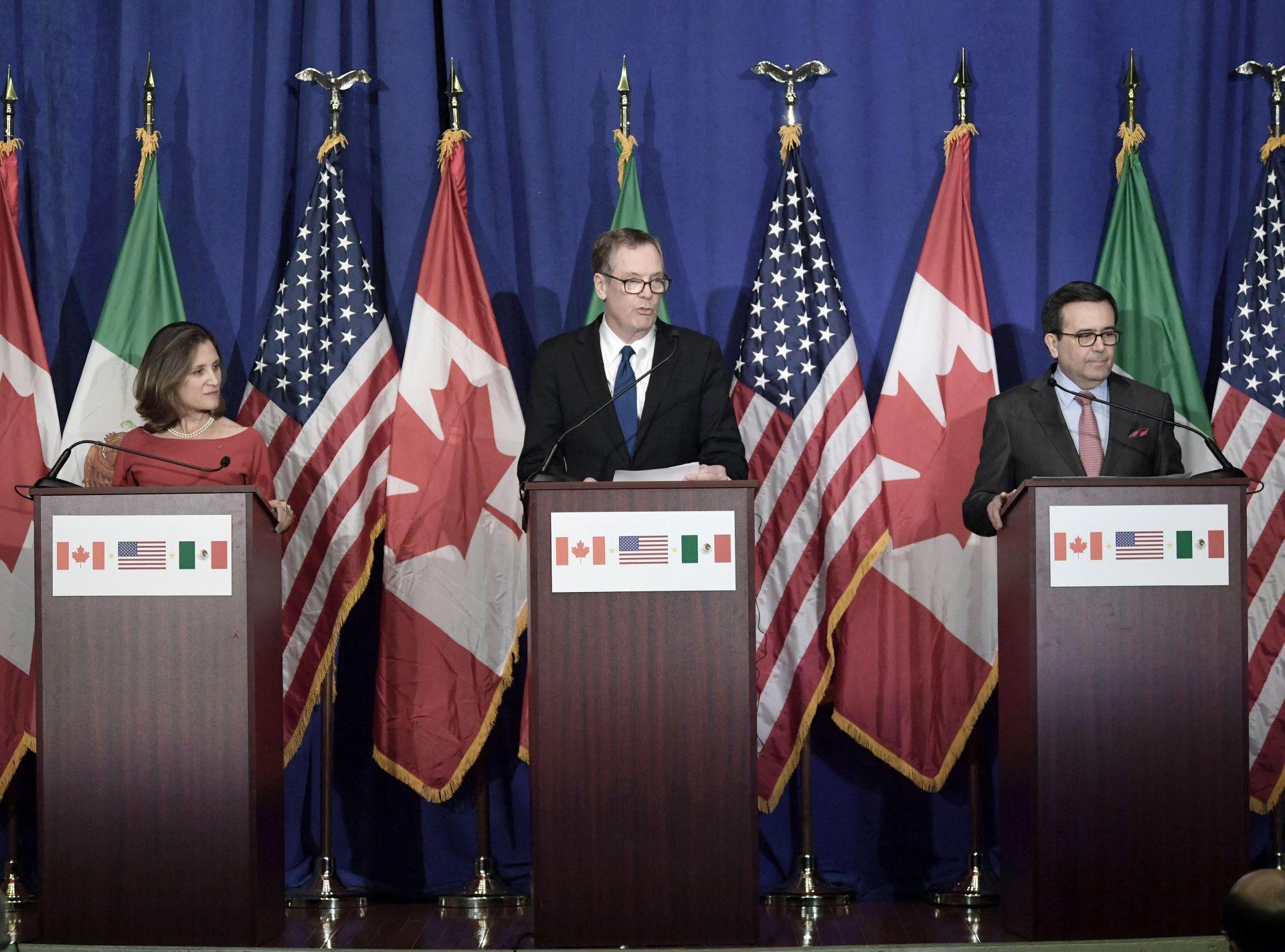 Agresividad de EE.UU. obliga a retrasar la renegociación del TLCAN hasta 2018