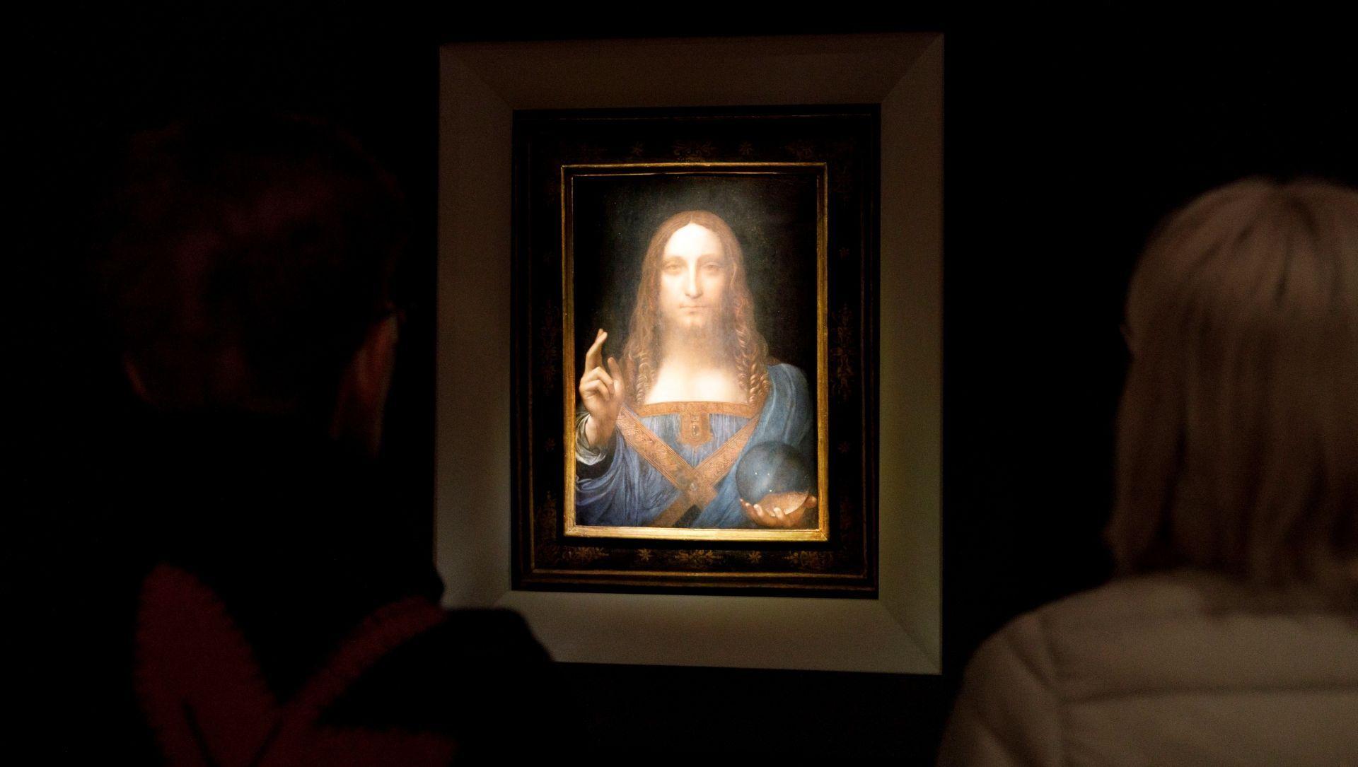 Un Da Vinci se subasta por 450 millones de dólares, un récord mundial