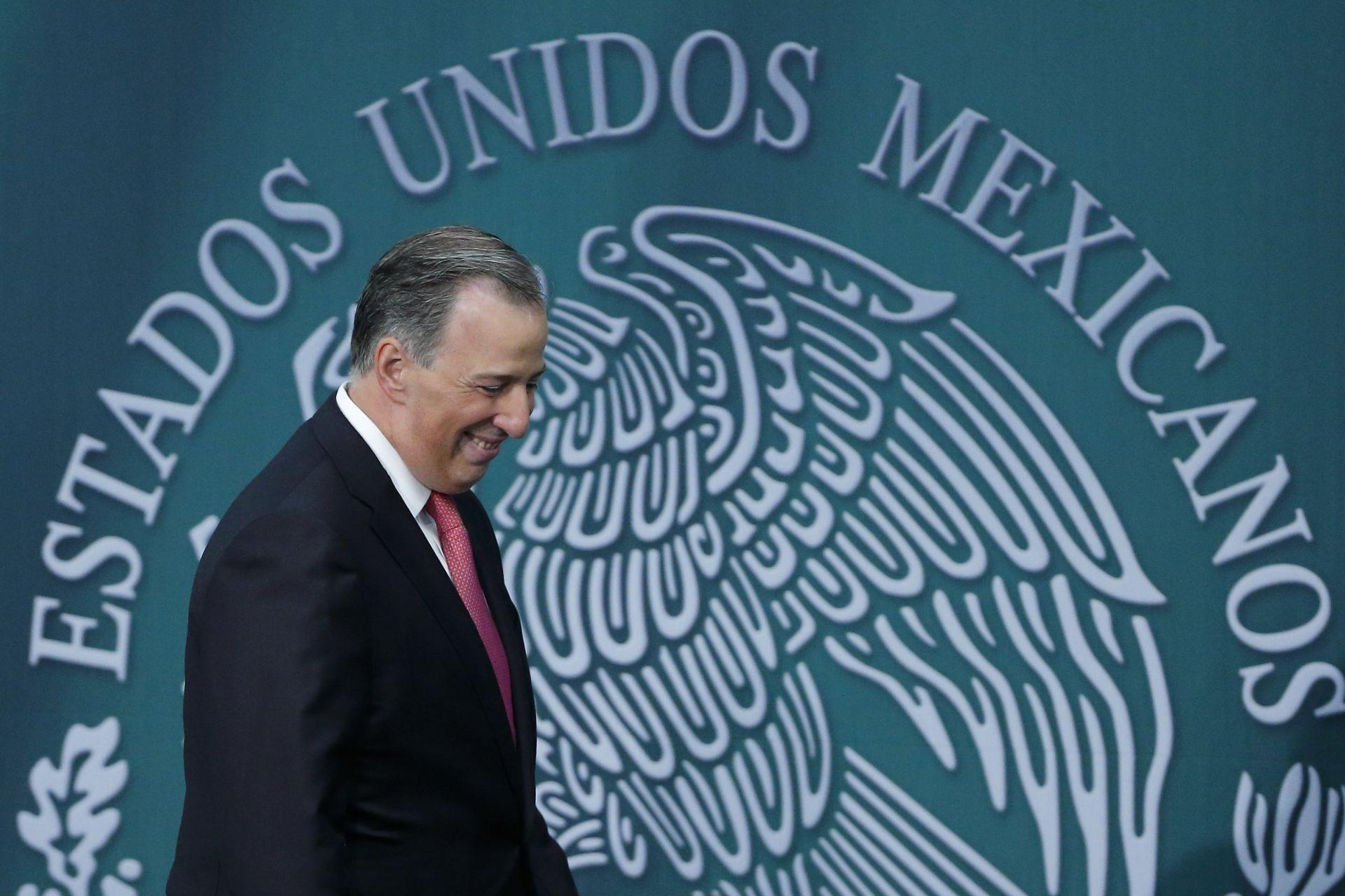 El ex-secretario mexicano de Hacienda, José Antonio Meade.