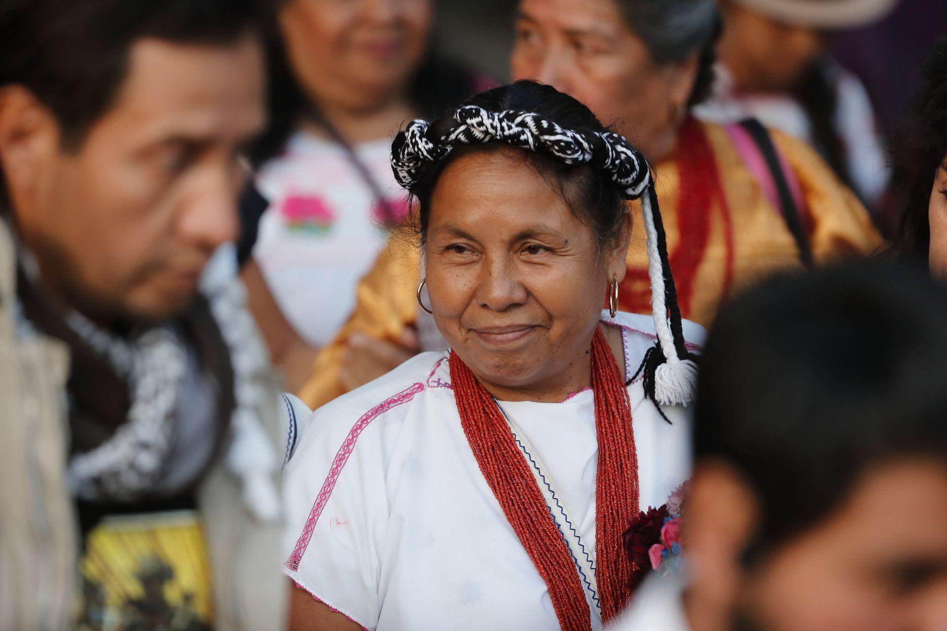 Marichuy candidata indigena a la presidencia de México