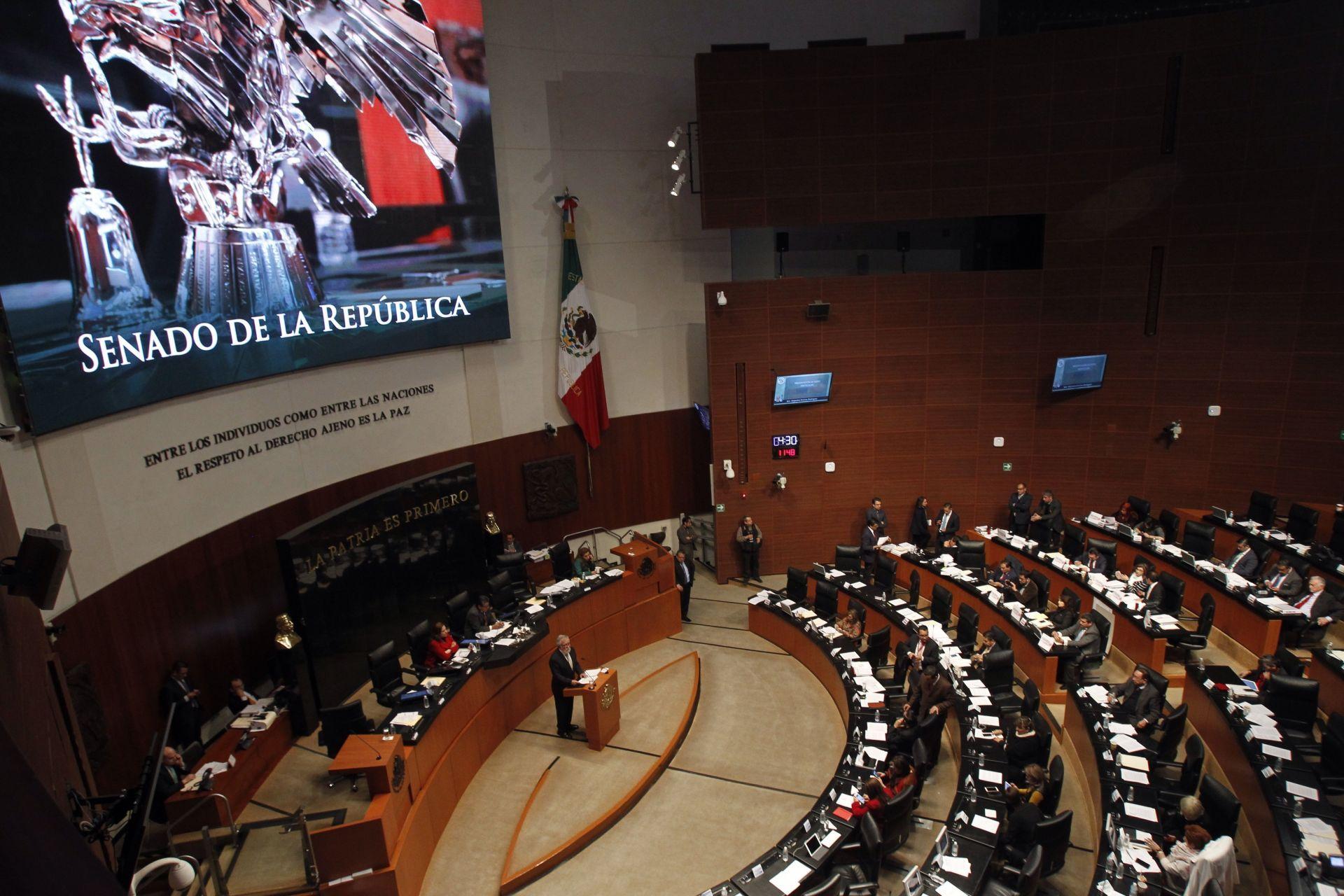 El Senado mexicano comienza el debate de la polémica Ley de Seguridad