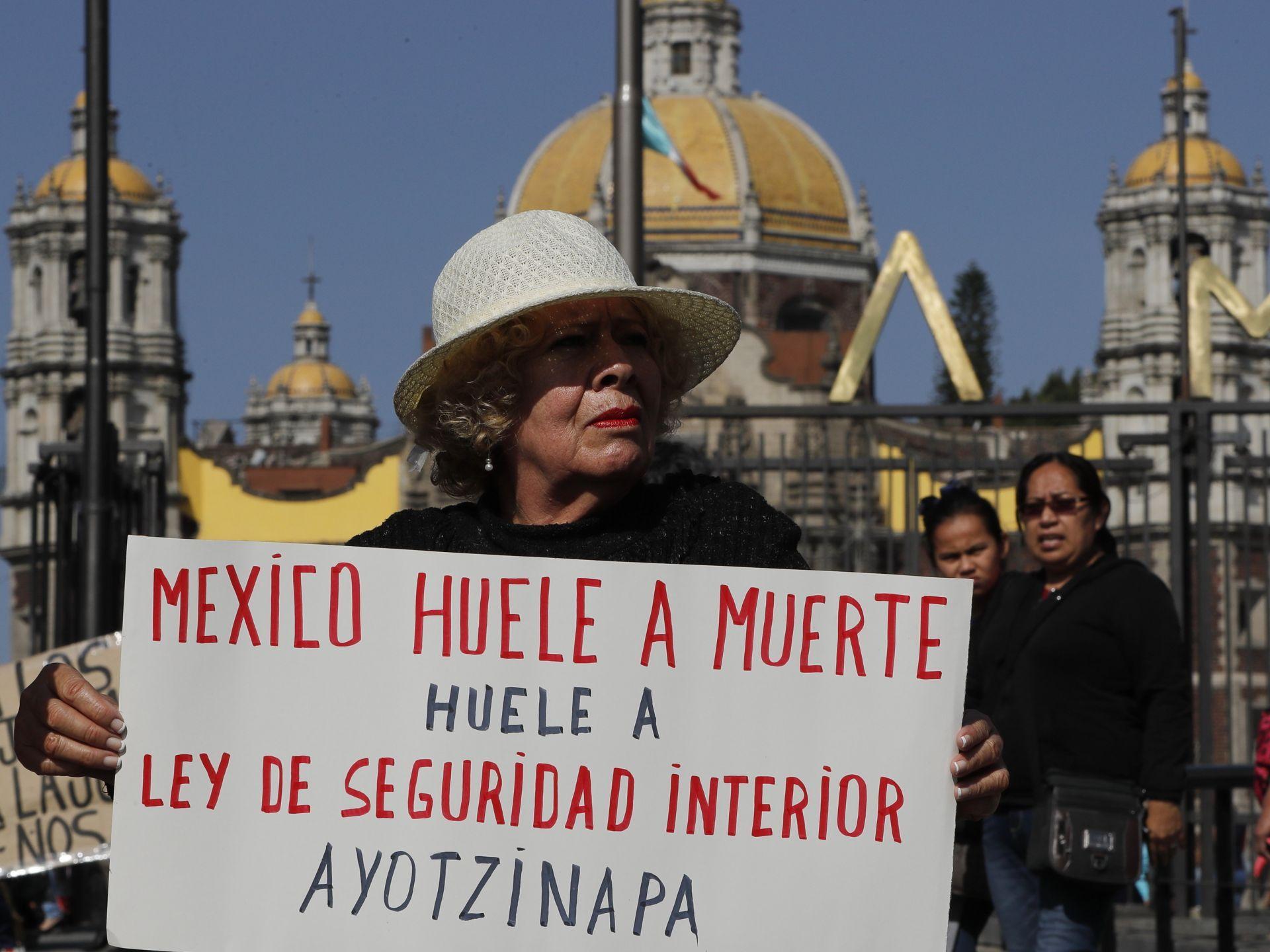 Padres de los 43 de Ayotzinapa buscan fortaleza en la Basílica de Guadalupe