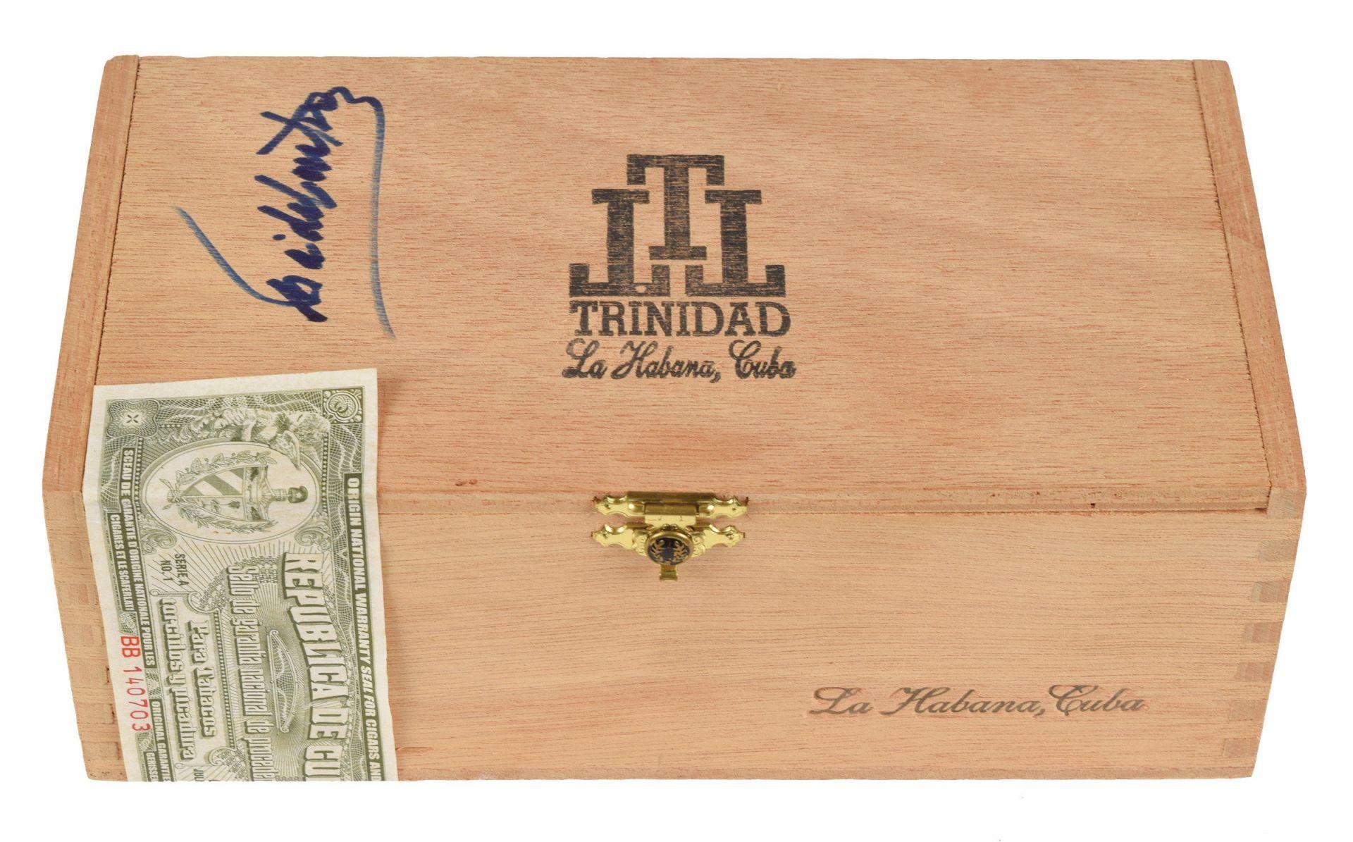 Una caja de puros de Fidel Castro se subasta por 27.000 dólares