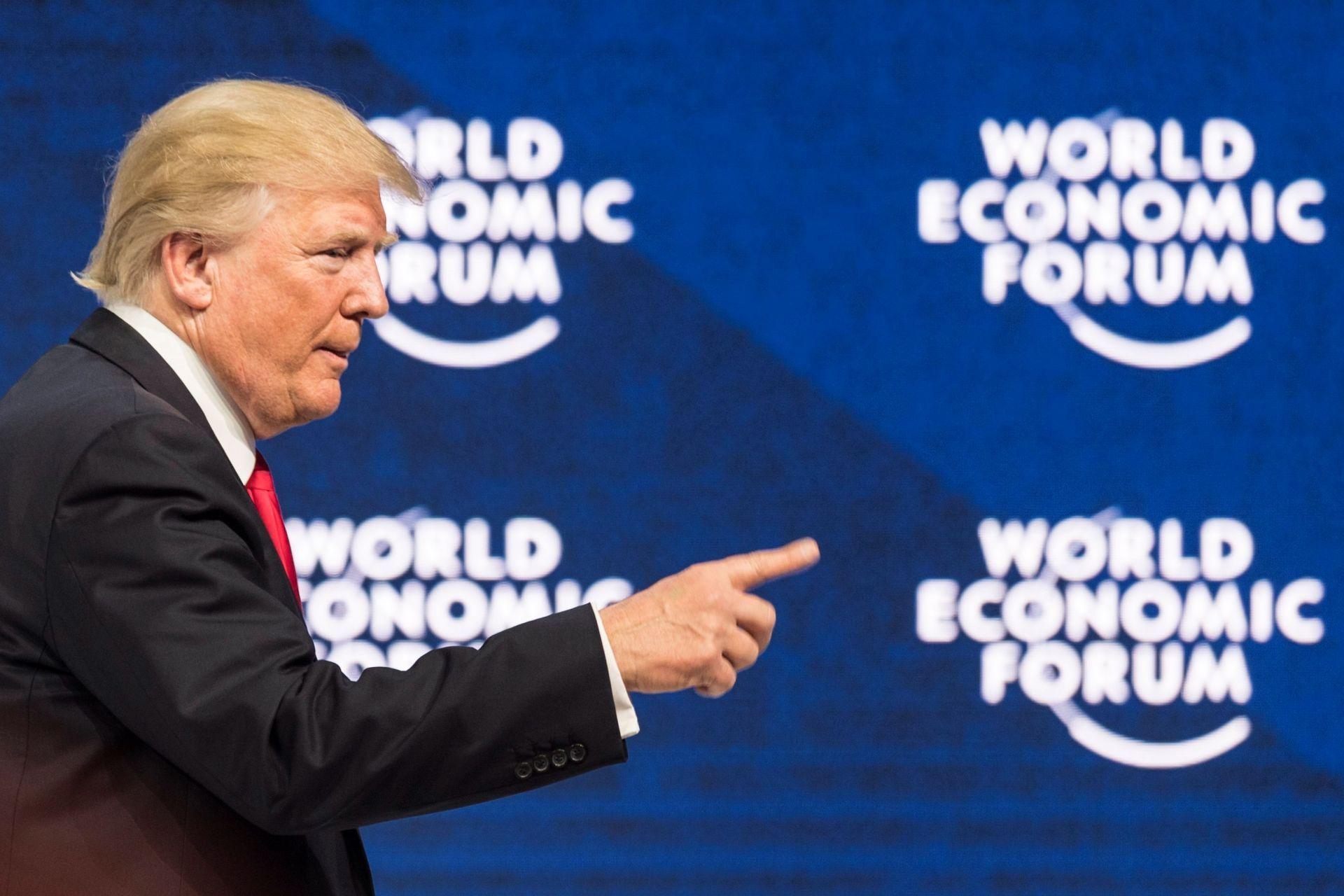 Elpresidenteestadounidense,DonaldJTrump-Davos