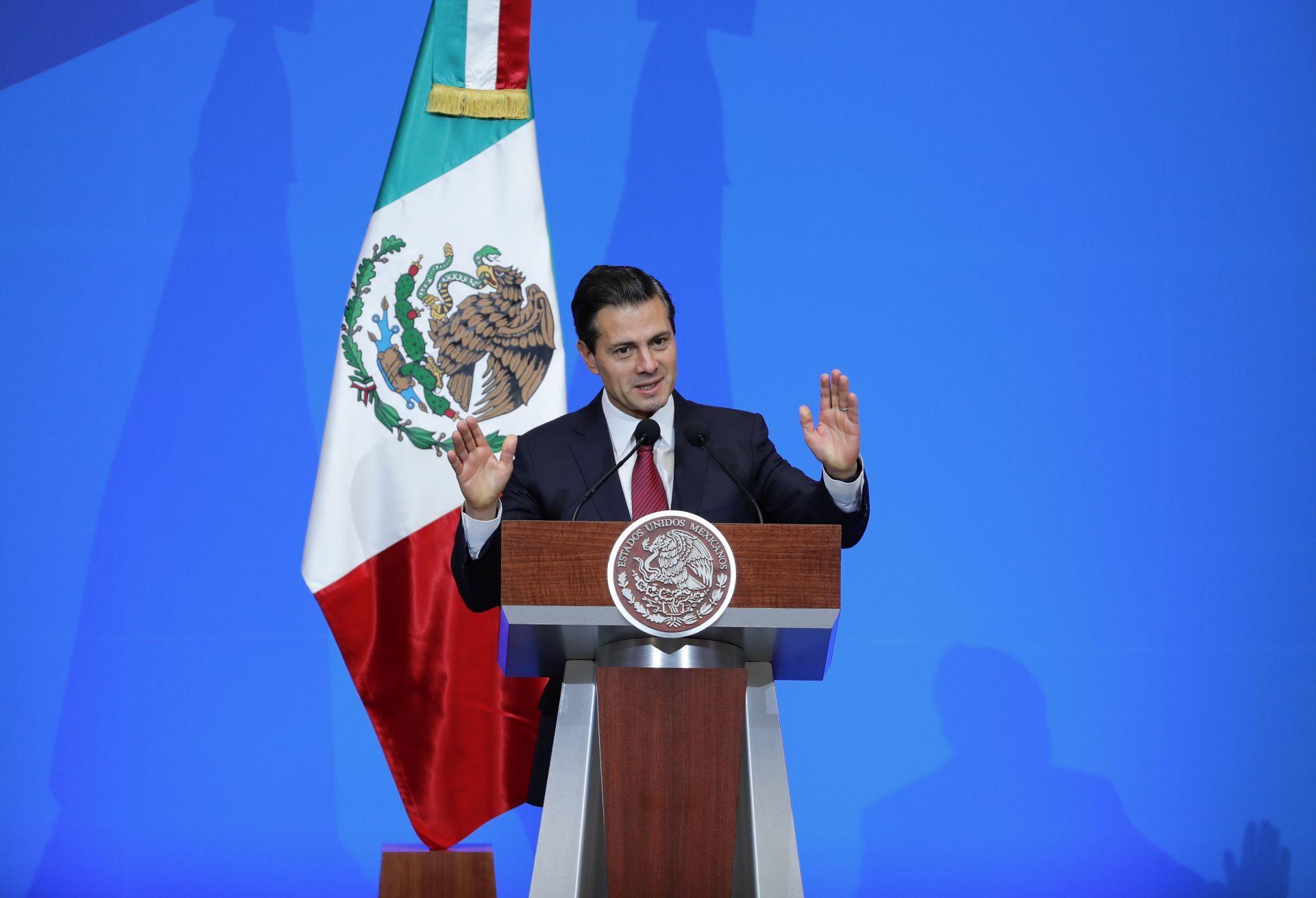 """Enrique Peña Nieto: """"Ni perdón ni olvido"""" para delincuentes"""