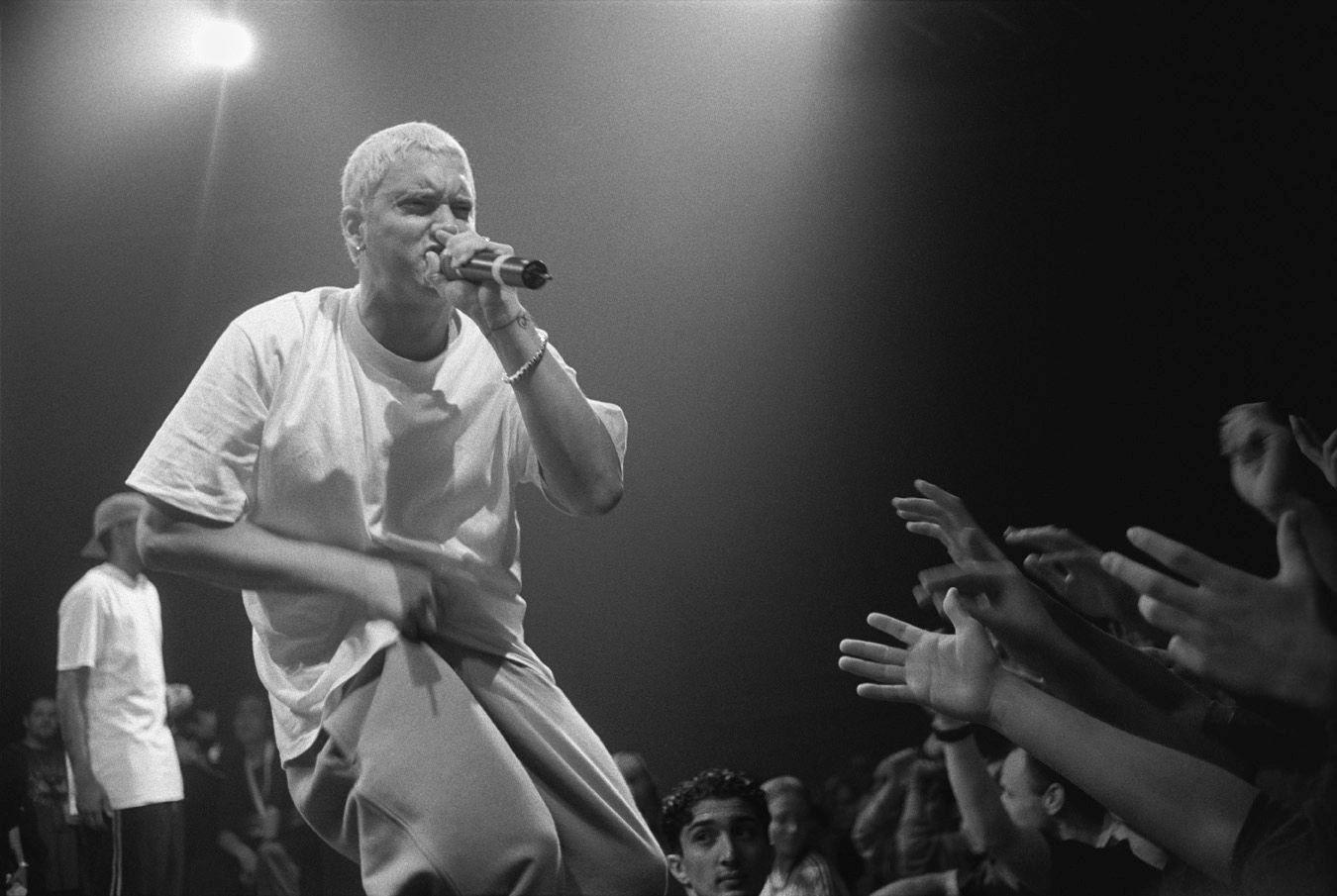 Eminem le da con todo a Trump en los premios BET Hip-Hop