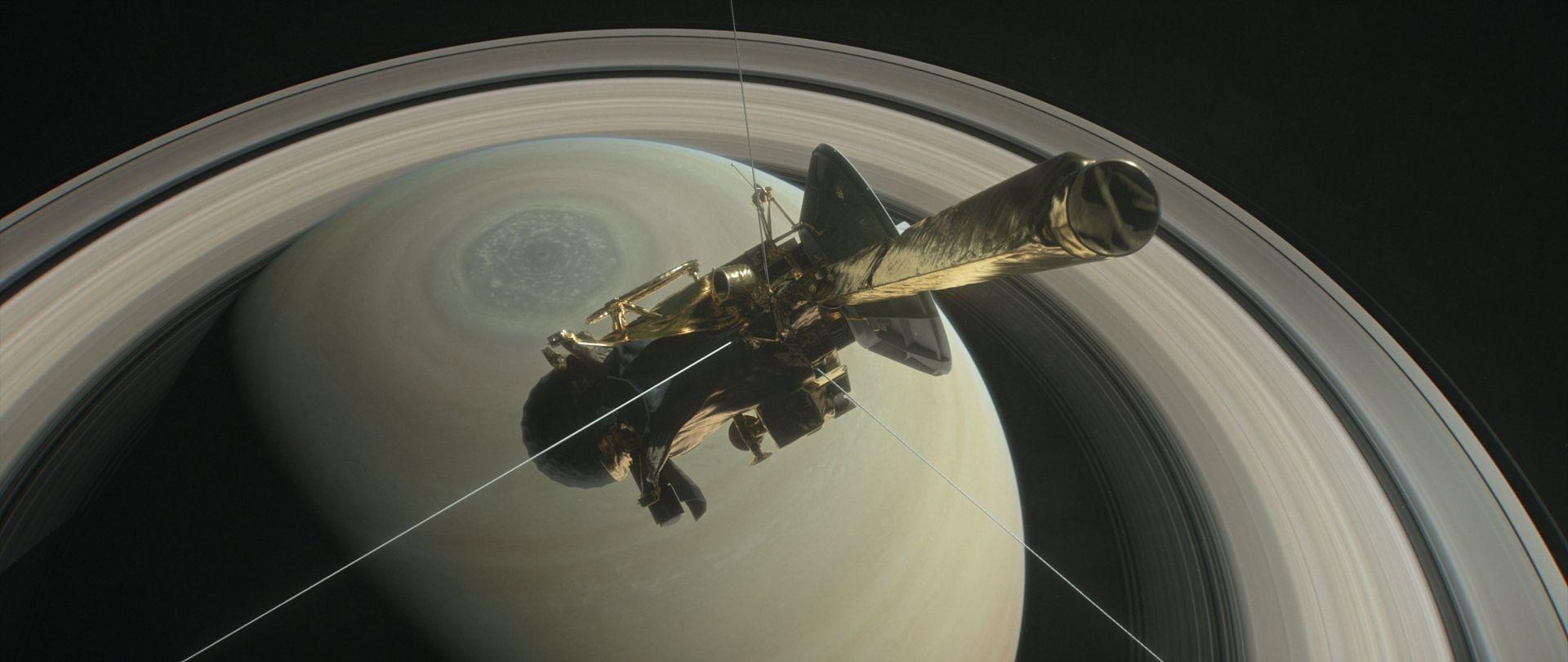 Encélado, la luna de Saturno, puede tener condiciones de habitabilidad