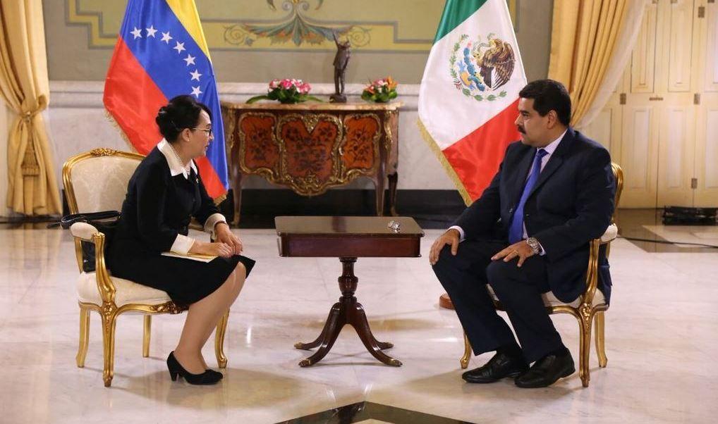 México mantendrá a embajadora en Venezuela, pese a los ataques de Maduro