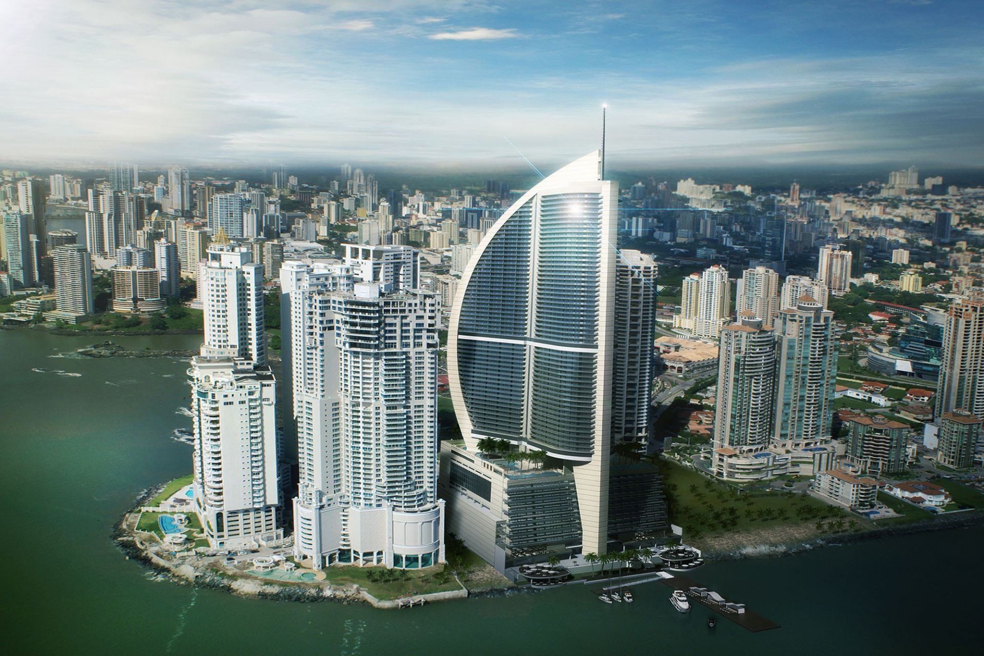 Trump Ocean Club Panamá.