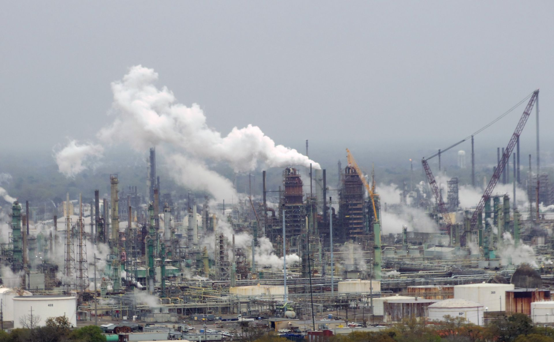 Exxon Mobil Refinery in Baton Rouge, Louisiana.