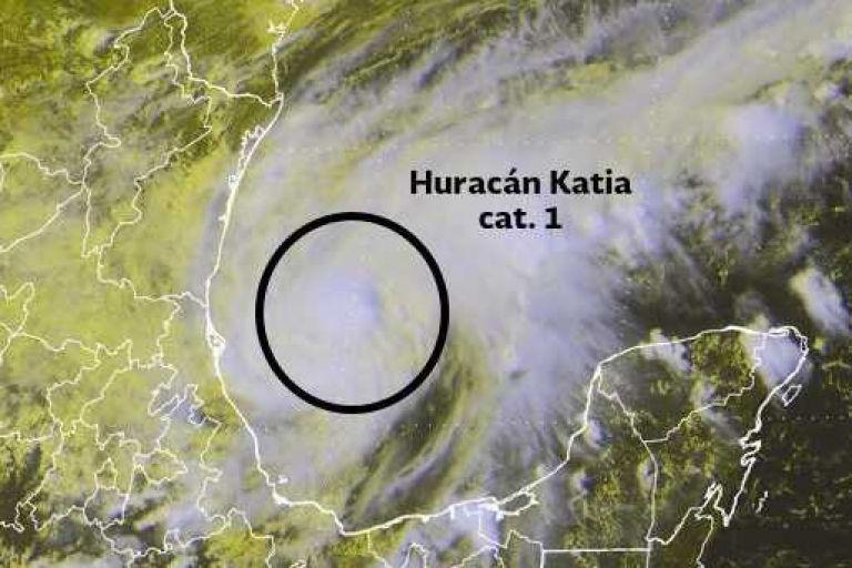 México anuncia medidas para enfrentar llegada de Katia en estados vulnerables